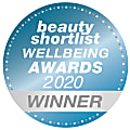 Beauty Shortlist Wellbeing Awards 2020 Winner
