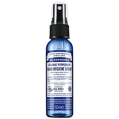 Organic Peppermint Hand Hygiene Spray