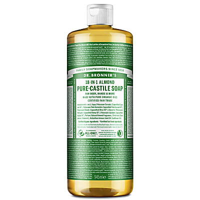 ALMOND PURE-CASTILE LIQUID SOAP - 946ml