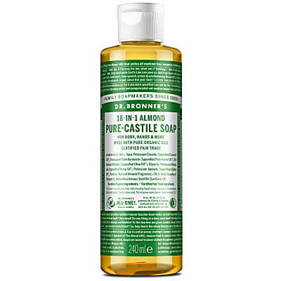 ALMOND PURE-CASTILE LIQUID SOAP - 237ml