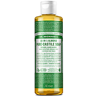 ALMOND PURE-CASTILE LIQUID SOAP - 237ml