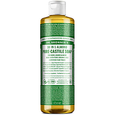 ALMOND PURE-CASTILE LIQUID SOAP - 473ml