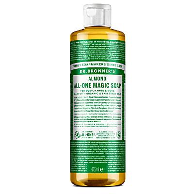 ALMOND PURE-CASTILE LIQUID SOAP - 473ml