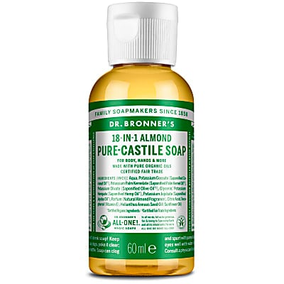 ALMOND PURE-CASTILE LIQUID SOAP - 59ml