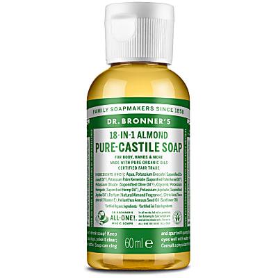 ALMOND PURE-CASTILE LIQUID SOAP - 60ml