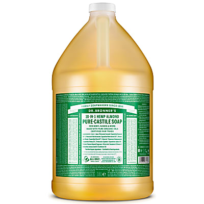 ALMOND PURE-CASTILE LIQUID SOAP  - 3.8L