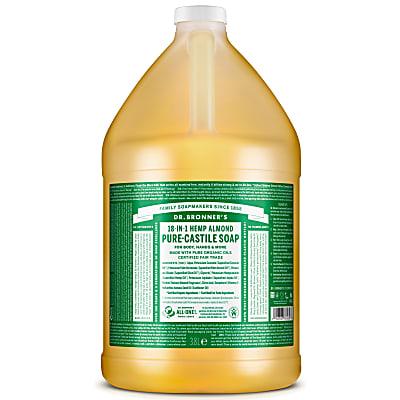 ALMOND PURE-CASTILE LIQUID SOAP  - 3.8L