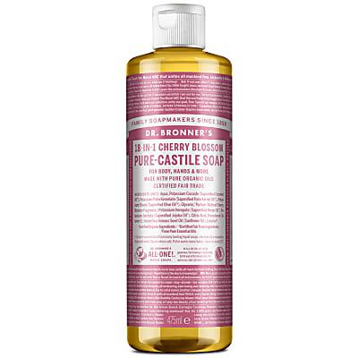 Cherry Blossom Pure-Castile Liquid Soap - 475ml