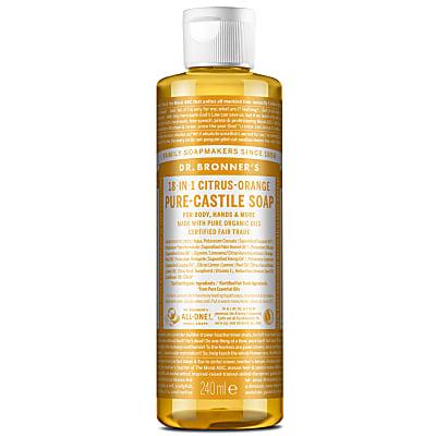 CITRUS PURE-CASTILE LIQUID SOAP - 237ml