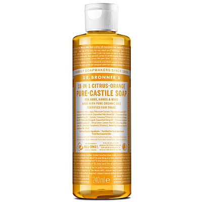 CITRUS PURE-CASTILE LIQUID SOAP - 237ml