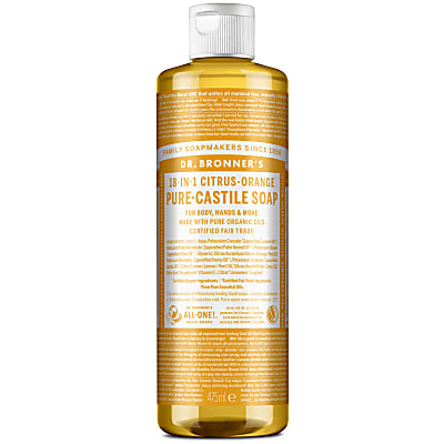 CITRUS PURE-CASTILE LIQUID SOAP - 473ml