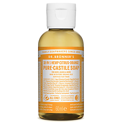 CITRUS PURE-CASTILE LIQUID SOAP - 60ml