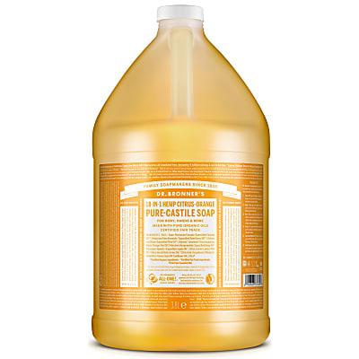 CITRUS PURE-CASTILE LIQUID SOAP -  3.8L