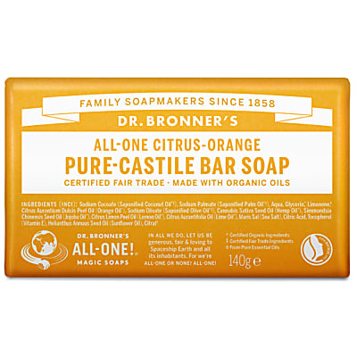 PURE-CASTILE BAR SOAP - CITRUS