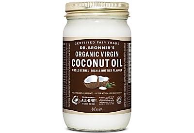 ORGANIC VIRGIN COCONUT OIL WHOLE KERNEL - 440ML