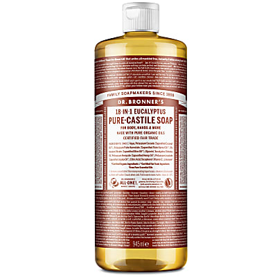 EUCALYPTUS PURE-CASTILE LIQUID SOAP -  946ml