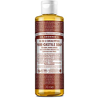 EUCALYPTUS PURE-CASTILE LIQUID SOAP - 237ml