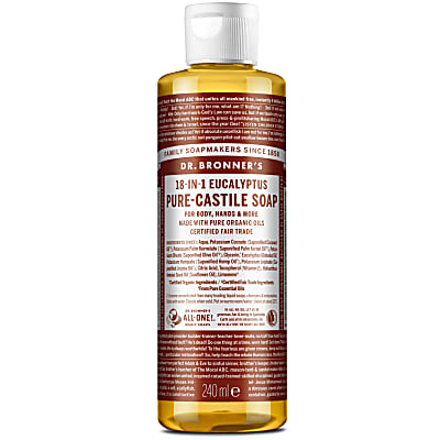 EUCALYPTUS PURE-CASTILE LIQUID SOAP - 237ml