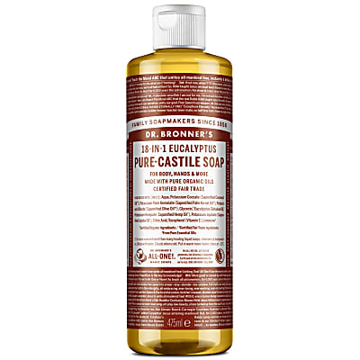 EUCALYPTUS PURE-CASTILE LIQUID SOAP - 473ml