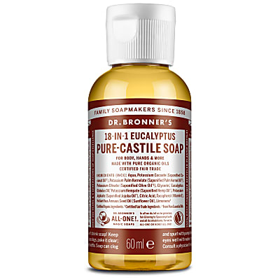 EUCALYPTUS PURE-CASTILE LIQUID SOAP - 60ml
