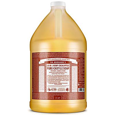 EUCALYPTUS PURE-CASTILE LIQUID SOAP - 3.8L