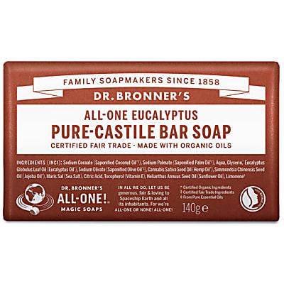 PURE-CASTILE BAR SOAP - EUCALYPTUS