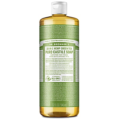 GREEN TEA PURE-CASTILE LIQUID SOAP - 946ml
