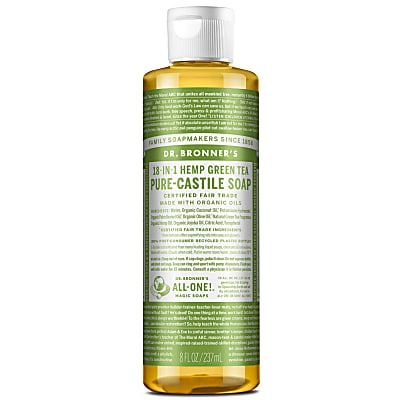 GREEN TEA PURE-CASTILE LIQUID SOAP -  237ml