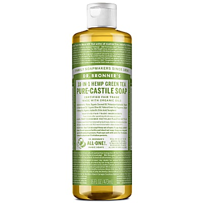 GREEN TEA PURE-CASTILE LIQUID SOAP - 473ml