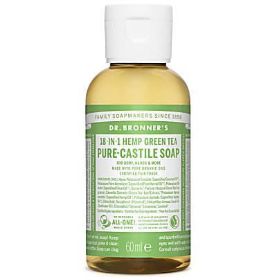 GREEN TEA PURE-CASTILE LIQUID SOAP - 60ml