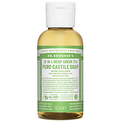 GREEN TEA PURE-CASTILE LIQUID SOAP - 60ml