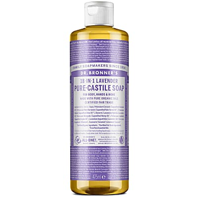 LAVENDER PURE-CASTILE LIQUID SOAP - 473ml