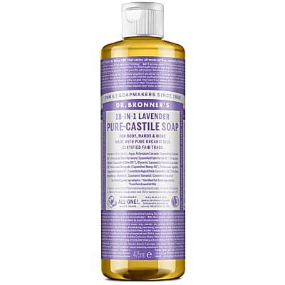 LAVENDER PURE-CASTILE LIQUID SOAP - 473ml