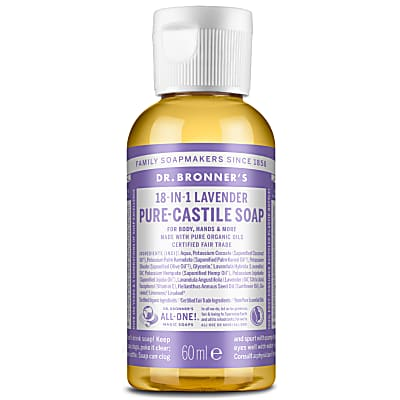LAVENDER PURE-CASTILE LIQUID SOAP - 60ml