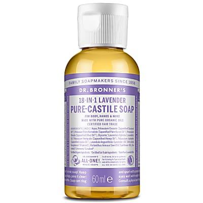 LAVENDER PURE-CASTILE LIQUID SOAP - 60ml