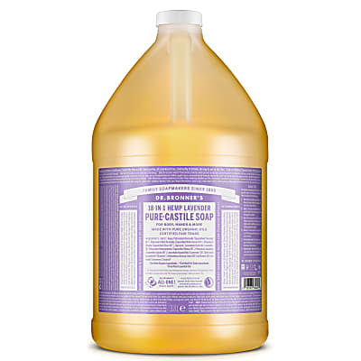 LAVENDER PURE-CASTILE LIQUID SOAP - 3.8L