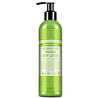 ORGANIC LOTION - PATCHOULI LIME
