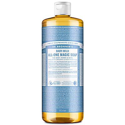 BABY UNSCENTED PURE-CASTILE LIQUID SOAP - 946ml