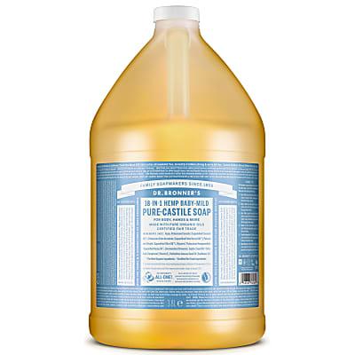 BABY UNSCENTED PURE-CASTILE LIQUID SOAP - 3.8L