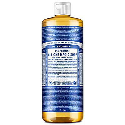 PEPPERMINT PURE-CASTILE LIQUID SOAP - 946ml