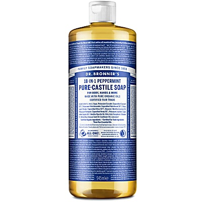PEPPERMINT PURE-CASTILE LIQUID SOAP - 946ml
