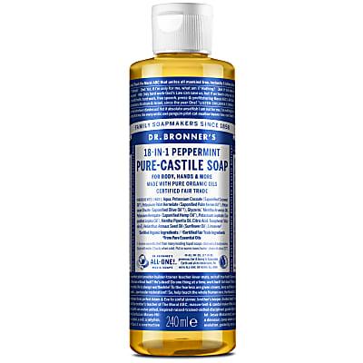 PEPPERMINT PURE-CASTILE LIQUID SOAP - 237ml