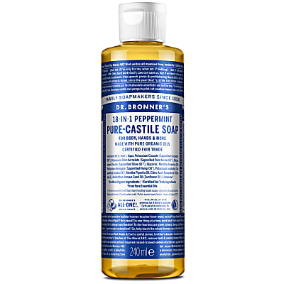 PEPPERMINT PURE-CASTILE LIQUID SOAP - 237ml