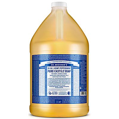 PEPPERMINT PURE-CASTILE LIQUID SOAP - 3.8L