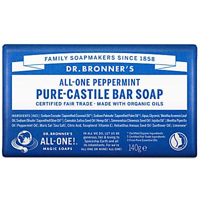 PURE-CASTILE BAR SOAP - PEPPERMINT