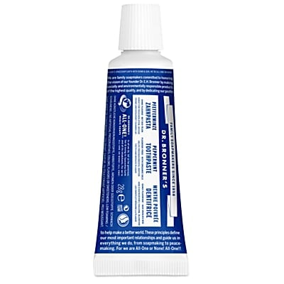 Peppermint Travel Toothpaste - 28g