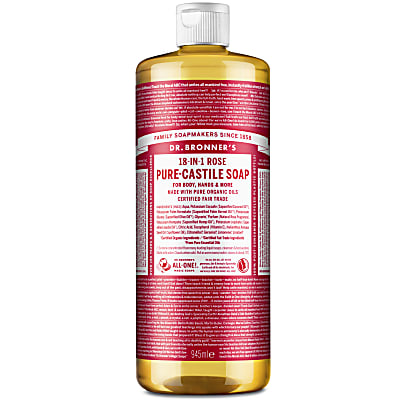 ROSE PURE-CASTILE LIQUID SOAP - 946ml