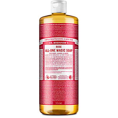 ROSE PURE-CASTILE LIQUID SOAP - 946ml