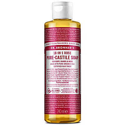 ROSE PURE-CASTILE LIQUID SOAP - 237ml
