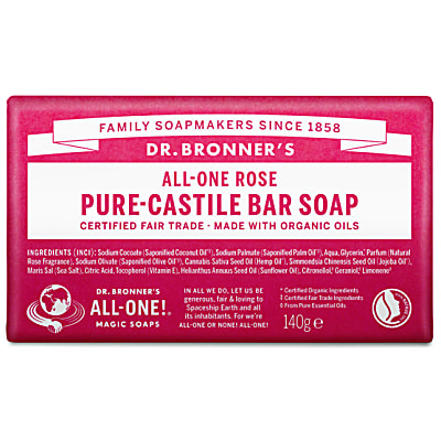 PURE-CASTILE BAR SOAP - ROSE